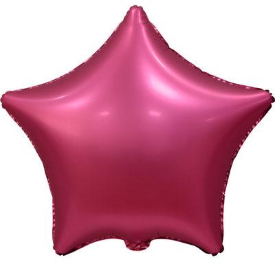 Сердце 45 см сатин бордовый 100 р. (пр-ва Китай Falali).