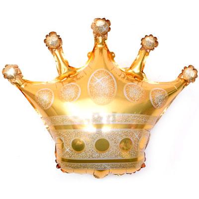 Корона золотая 60 см воздух 120 р., гелий 205 р., 80 см воздух 220 р., гелий 370 р.