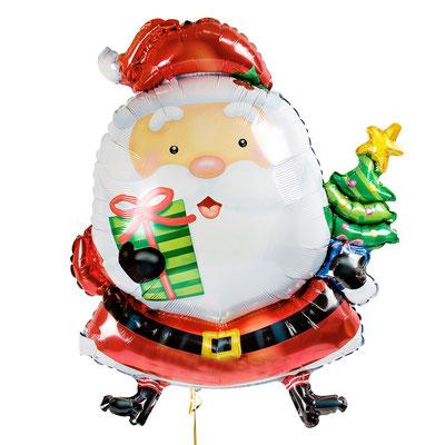 Дед Мороз 78 х 66 см воздух 278 р., гелий 470 р.