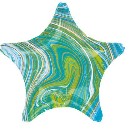 Звезда агат зеленый воздух 90 р., гелий 140 р.