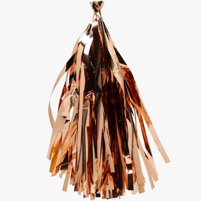 Кисточки тассел для украшения шаров Розовое золото по 30 р.
