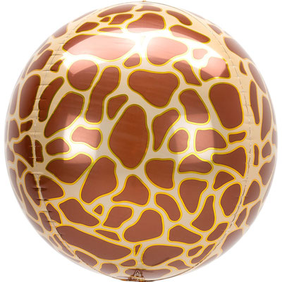 3D Жираф диаметр 40 см воздух 385 р., гелий 515 р.