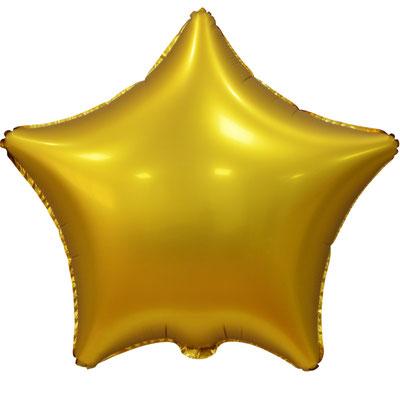 Сердце 45 см сатин золотой 90 р. (пр-ва Китай Falali).