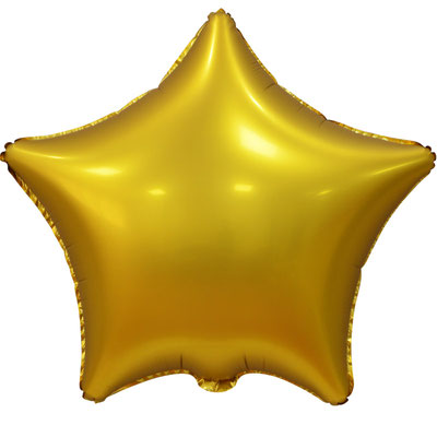 Сердце 45 см сатин золотой 100 р. (пр-ва Китай Falali).
