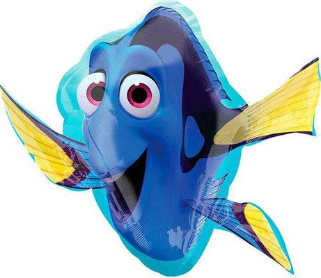 Рыбка Дори 71 см х 52 см воздух 300 р., гелий 480 р.