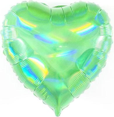 Сердце голография воздух 55 р., гелий 105 р.