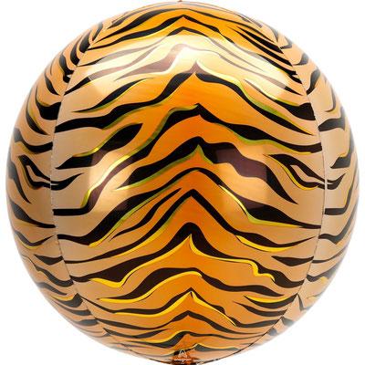 3D Тигр диаметр 40 см воздух 385 р., гелий 515 р.