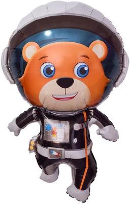 Мишка космонавт воздух 130 р., гелий 235 р.
