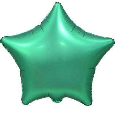 Сердце 45 см сатин зеленый 90 р. (пр-ва Китай Falali).