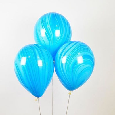 Шары - агаты это изюминка в композиции из шаров! Пр-во Qualatex США 30 см по 99 р.
