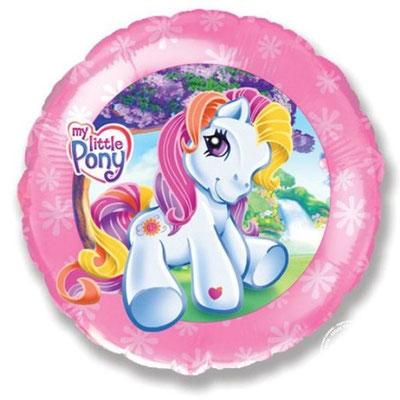 """Круг """"Моя маленькая пони"""" воздух 76 р., гелий  110 р."""