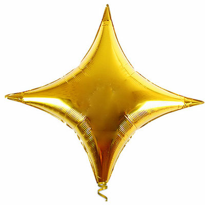 Звезда 4-х конечная 71 см воздух 145 р., гелий 270 р.