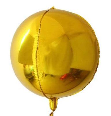 3D сфера 51 см воздух 220 р., гелий 620 р.