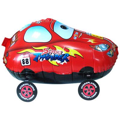 Машинка 3D-фигура 55 см. Надувается гелием и легко передвигается за веревочку 200 р.