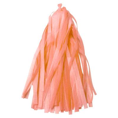 Кисточки тассел для украшения шаров Персик  по 30 р.