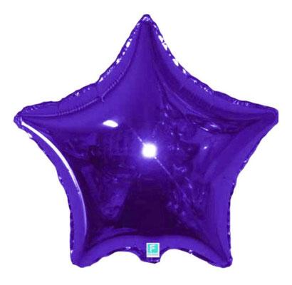 Фиолетовая зеркальная 45 см 135 р.