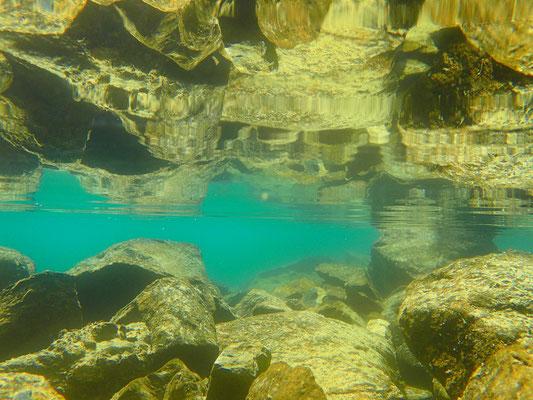 Unterwassertauglichkeit meiner neuen Kamera getestet.....