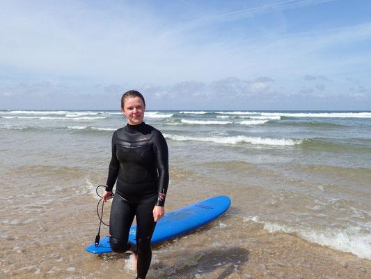 beim Surfen bisschen zu geguckt