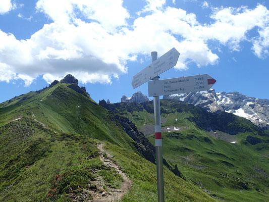 so nah an der Schweiz, leider keine Zeit für einen Abstecher zum Schweizer Tor