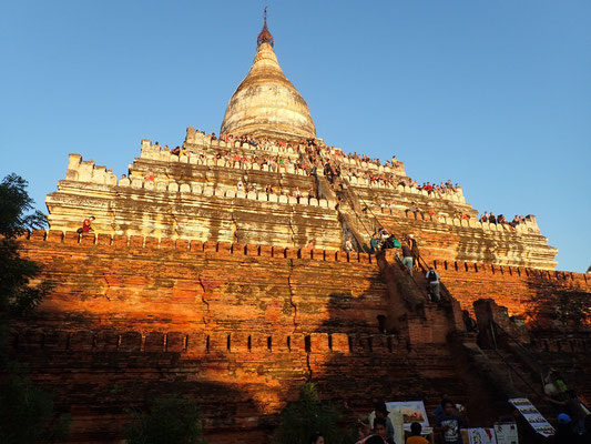 In Bagon: Sonnenuntergangs Tempel