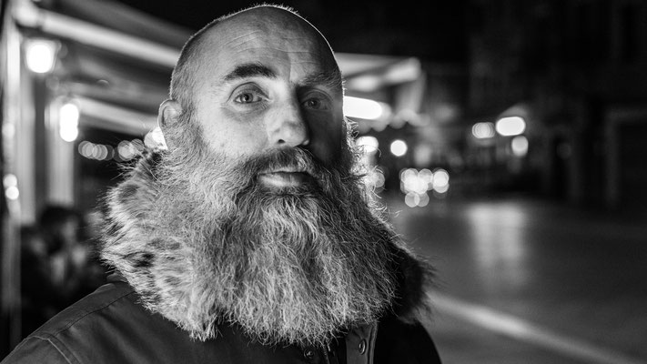 """#201 """"What the hell are you doing on this planet?""""  Pierluigi - """"I really don't know, but my beard will tell you!"""""""