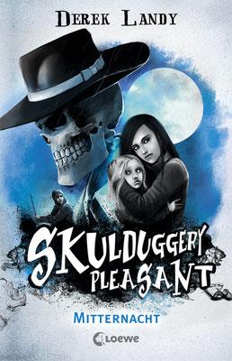 Skulduggery Pleasant, Mitternacht, Walküre Unruh, Fantasy, Rezension, Derek Landy