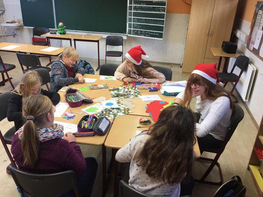 Weihnachtsbasteln 5 Klasse.2018 Tgs Kaulsdorf