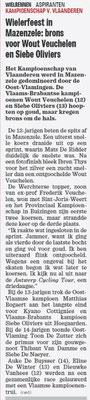 Wielerfeest in Mazenzele - Het Nieuwsblad Pajottenland 22/7/2021 (Wim Redant)