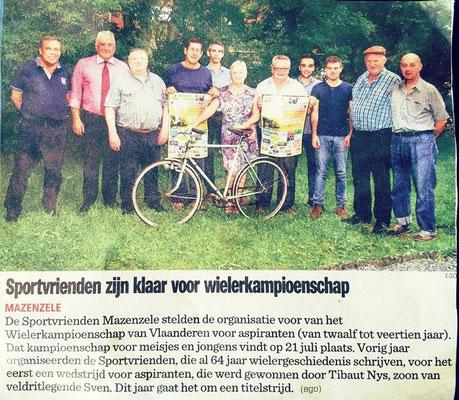 Het Nieuwsblad - (Erik Gyselinck)