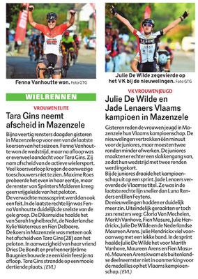 KVV Dames Jeugd + Elite Vrouwen - 1/10/2018 - HLN Pajottenland (Erik Vandeweyer)