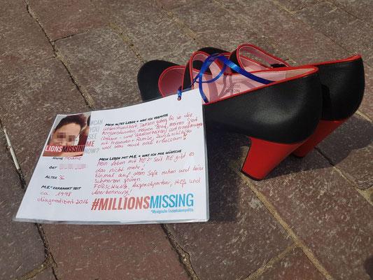 Botschaft von Melanie für den 12.05.2018 in Gütersloh: Ich bin eine von #MillionsMissing