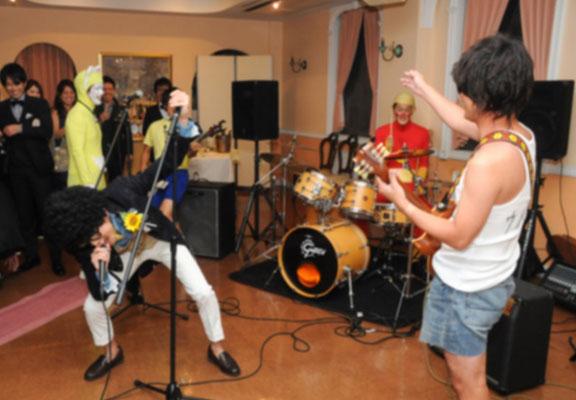 横浜 カジュアルパーティー 1.5次会 バンド演奏
