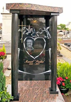 Portrait et décor funéraire