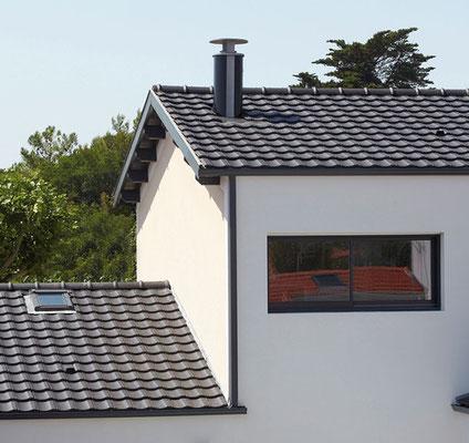 Sortie de toit moderne ronde Poujoulat