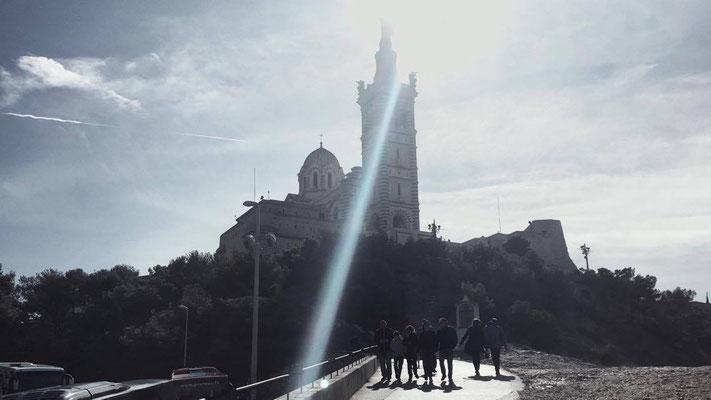 Vue sur la Basilique Notre-Dame de la Garde