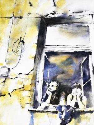 Aquarelle / Watercolor by Didier GEORGES