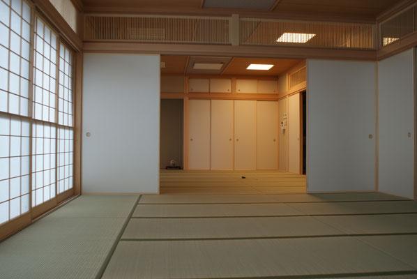 2階 和室 17.5畳+15畳