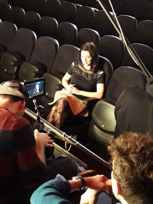 "Presentatrice Tv pour ""CinéView"" 2018"