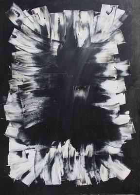 Contrast, 70x100 cm, Acryl auf Leinwand, 2015