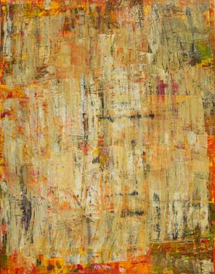 Long Life Chaos, 80x100 cm, Acryl auf Leinwand, 2013 –VERKAUFT–