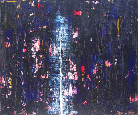 Solitude, 60x50 cm, Acryl auf Leinwand, 2015