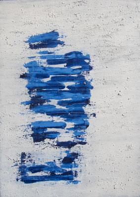 Moon Water, 70x100 cm, Acryl auf Leinwand, 2016