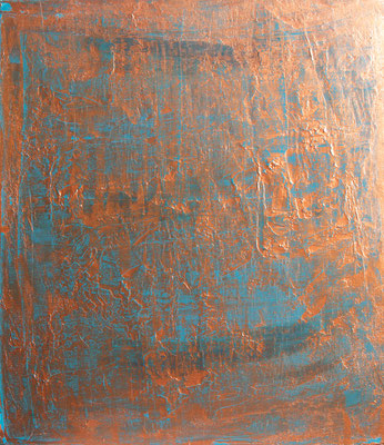 Copper Time III, 50x60 cm, Acryl auf Leinwand, 2016