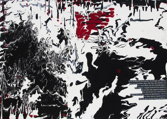 Scars of Life, 70x50 cm, Acryl auf Leinwand, 2014