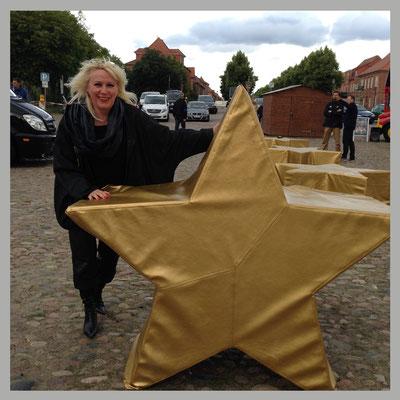Andsrea Weinke-Lau, Groß Laasch, Die anderen Bilder, Grabbild, Porzellanbild