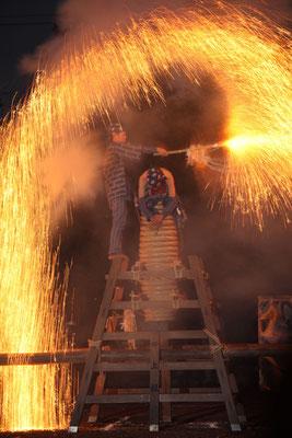 入選:炎の舞:前河栄次