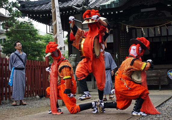 入選:笹踊:仲根英之