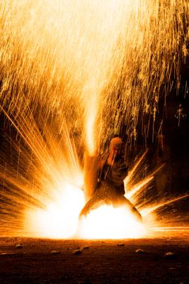 特選1席:神に捧げる火:山口登志実