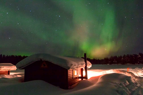 Polarlights in Lapland
