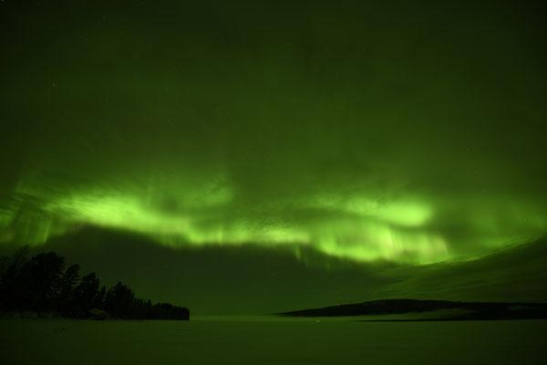 Polarlichter über Lappland
